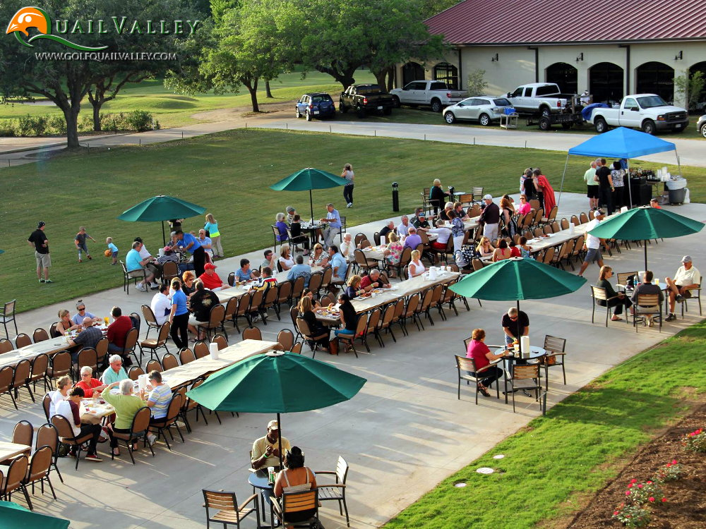 Outdoor Luncheon / Banquet - Green Lawn