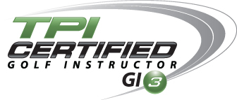 TPI Certified Golf Instructor logo