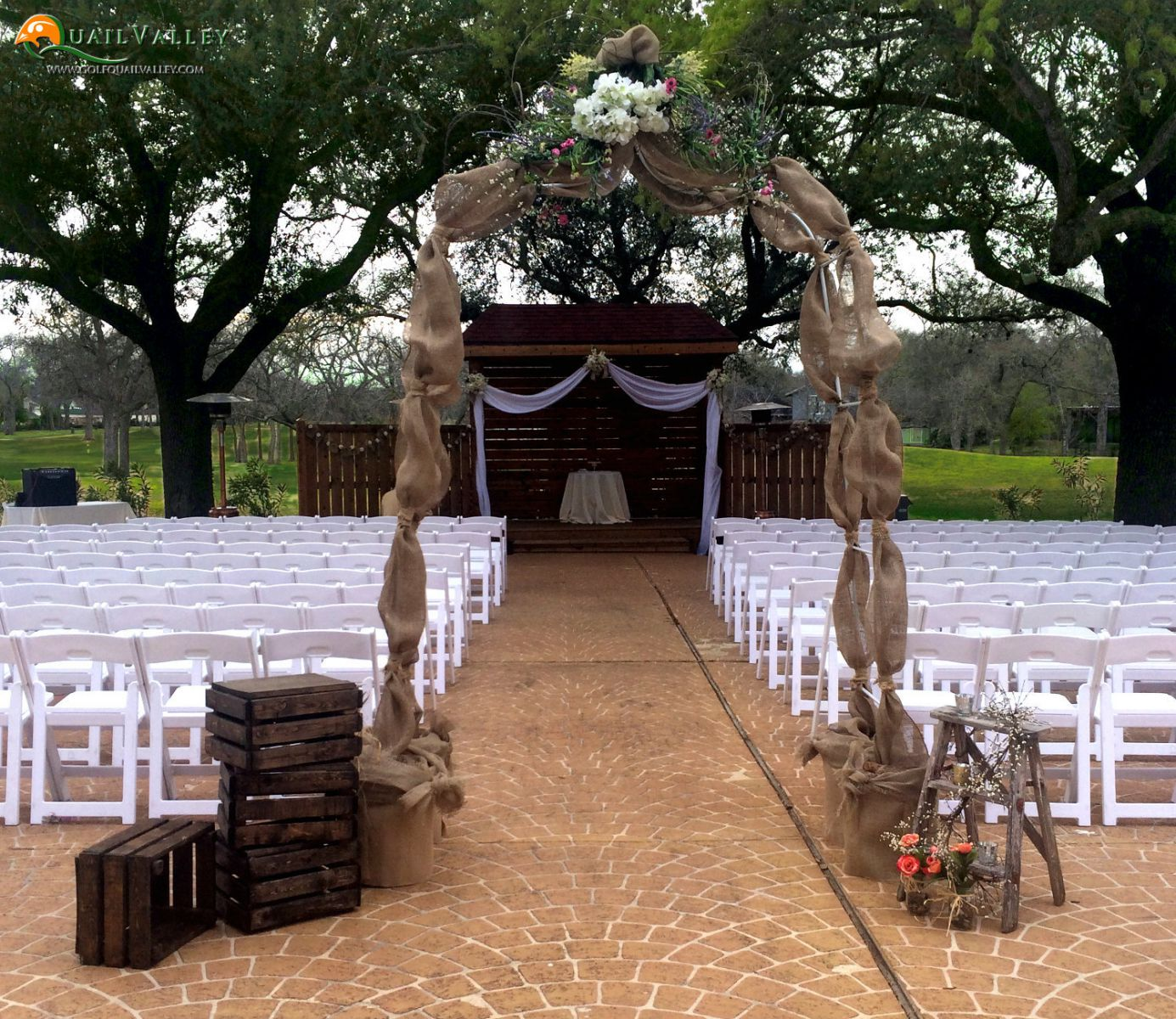 The Beautiful Wedding Venue At Quail Valley In Houston, TX