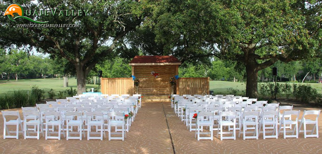 The beautiful wedding venue at quail valley in houston tx outdoor weddings junglespirit Image collections