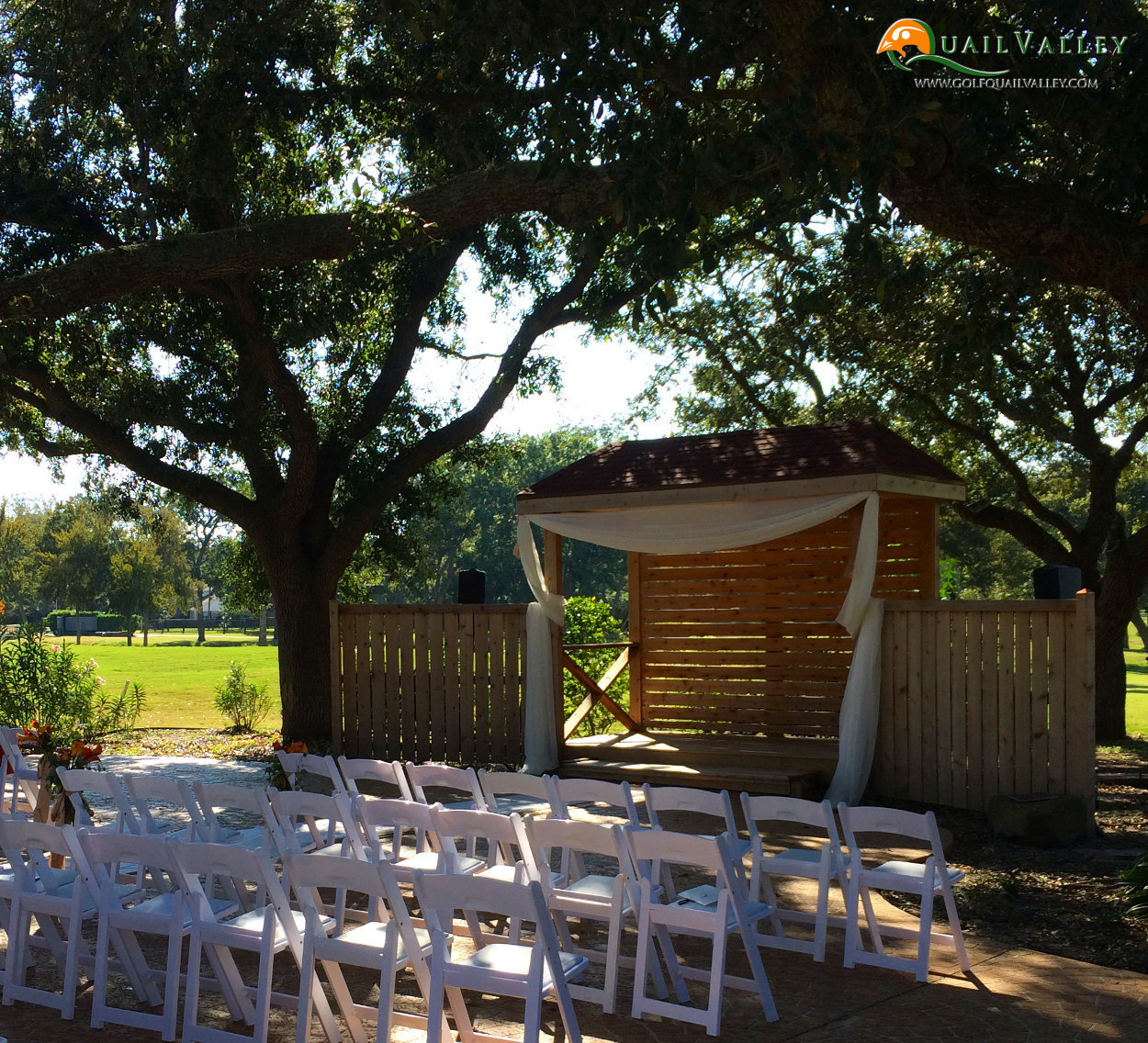 Outdoor Weddings at Quail Valley