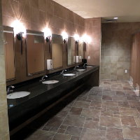 Company Meetings & Events - Clean Spacious Restrooms