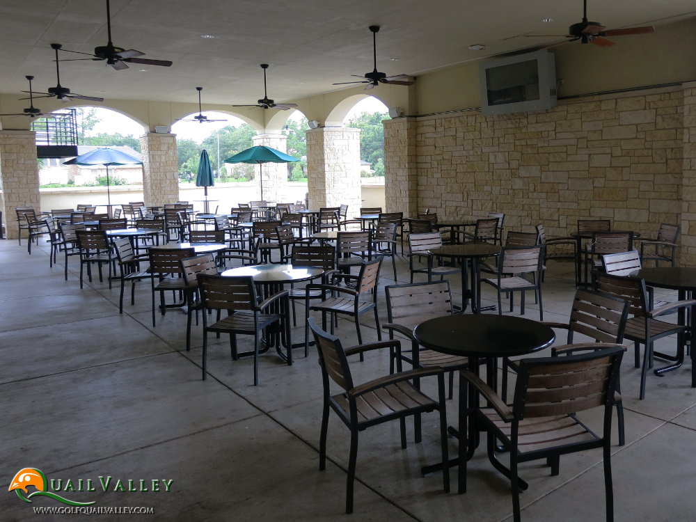 Company Event - Covered Patio