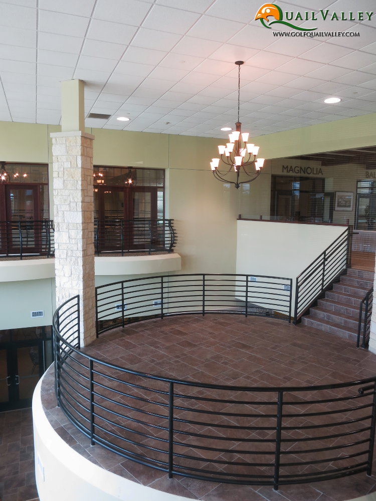 Mezzanine for Golf Events