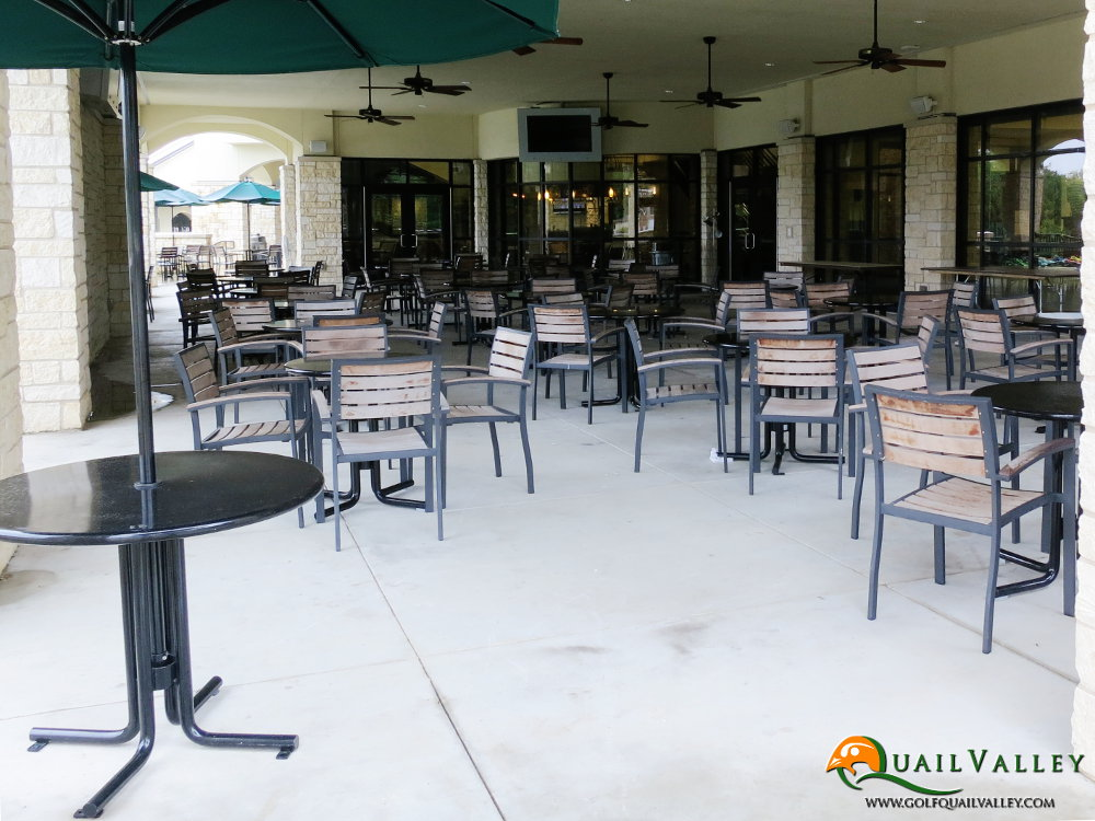 Golf Events - Covered Patio