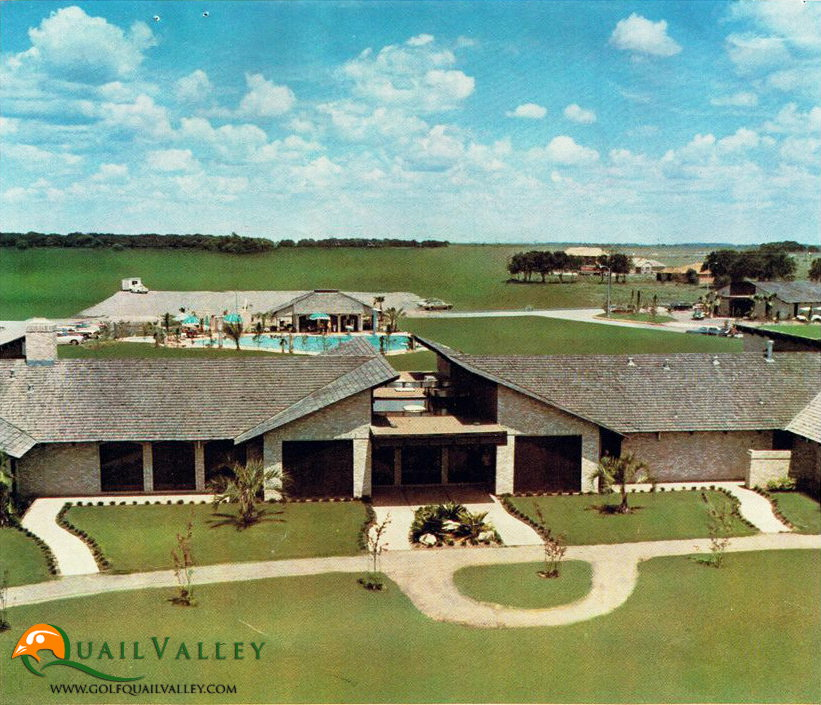 Quail Valley Country Club in the 19070s