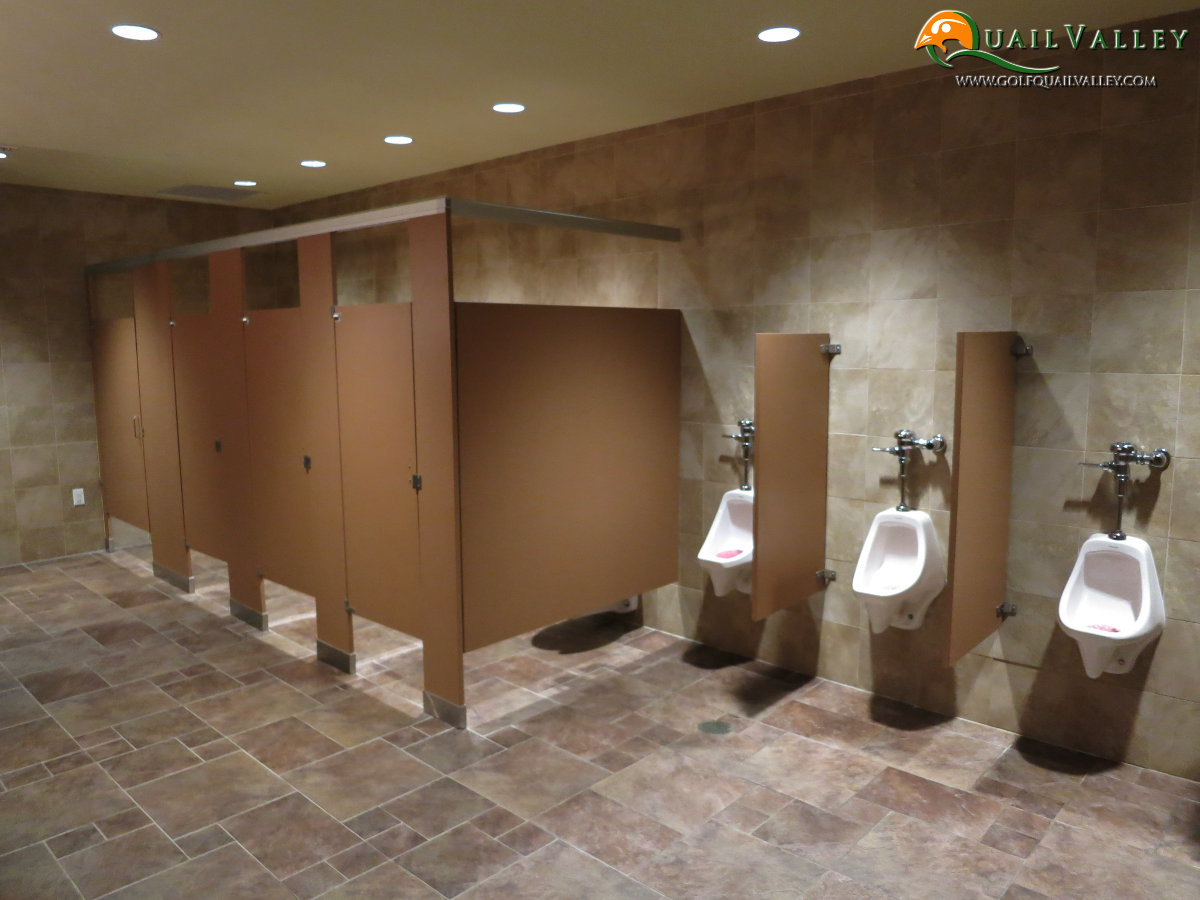 Golf Events Restrooms